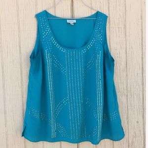 DressBarn Turquoise blouse